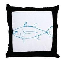 Tuna is Art Throw Pillow