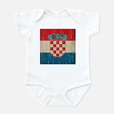 Vintage Croatia Infant Bodysuit
