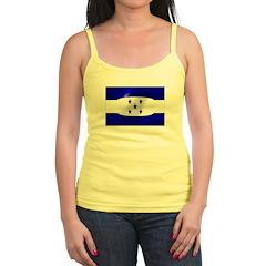 Honduras Flag Jr. Spaghetti Tank
