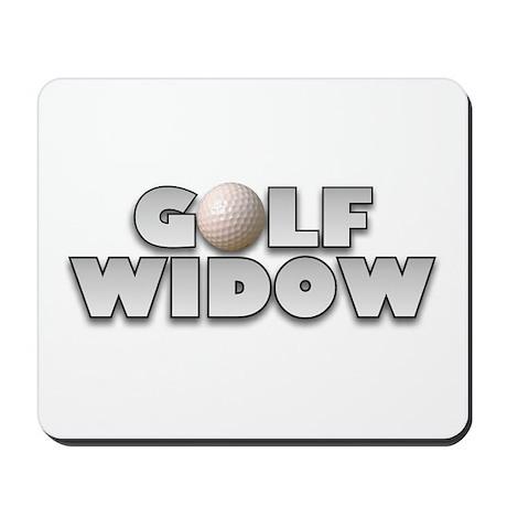 Golf Widow Mousepad