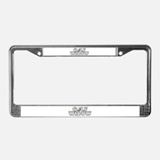 Golf Widow License Plate Frame