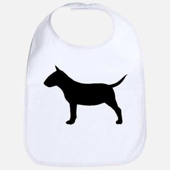 Mini Bull Terrier Bib