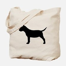 Mini Bull Terrier Tote Bag