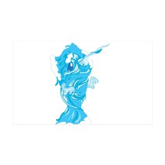 Water Element Narwhal Wall Decal
