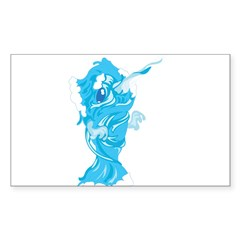 Water Element Narwhal Decal
