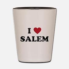 I Love Salem Oregon Shot Glass