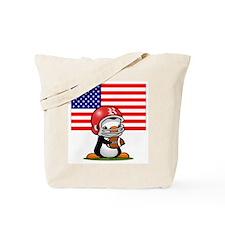 Grid Iron Popo (2) Tote Bag