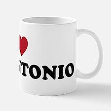 I Love San Antonio Texas Mug
