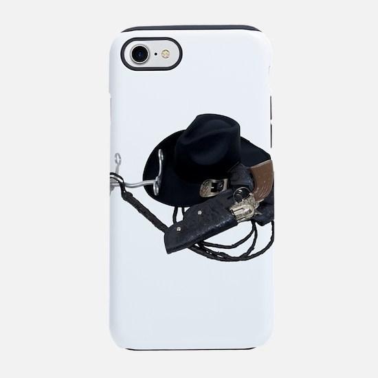 CowboyHatTools090309.png iPhone 7 Tough Case