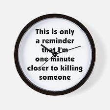 . . .a reminder. . .