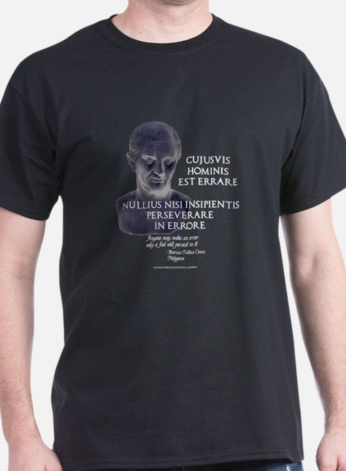 Persistence in Error T-Shirt