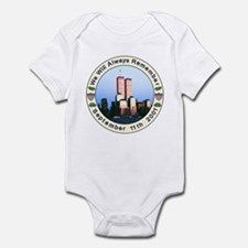 9-11 September 11th Infant Bodysuit
