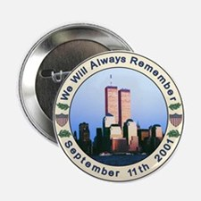 "9-11 September 11th 2.25"" Button"
