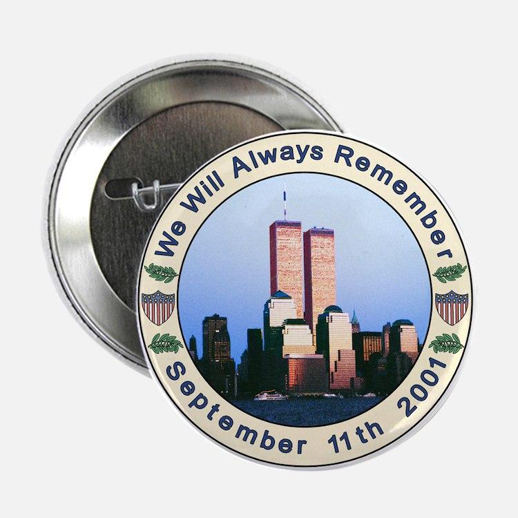"9-11 September 11th 2.25"" Button"