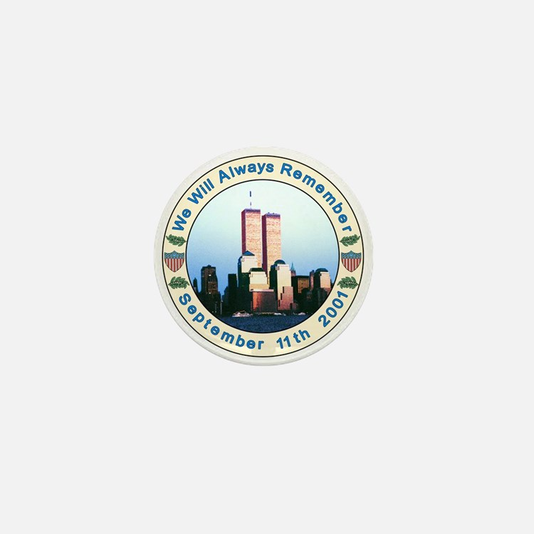 September 11th Button - Tribute to 9/11