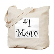 Number One Mom Tote Bag