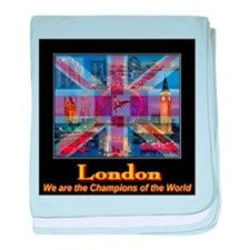 London 2012 Champions of the World baby blanket