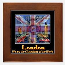 London 2012 Champions of the World Framed Tile