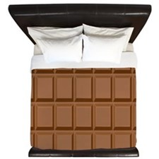 Chocolate bar King Duvet