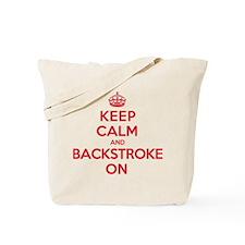 Keep Calm Backstroke Tote Bag