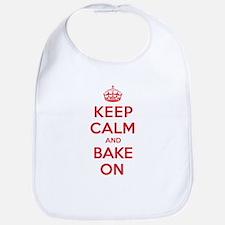 Keep Calm Bake Bib