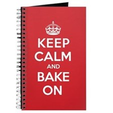 Keep Calm Bake Journal