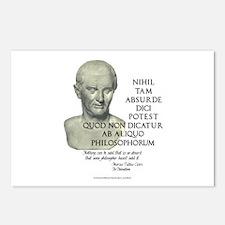 Absurd Philosophy Postcards (Package of 8)