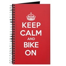 Keep Calm Bike Journal