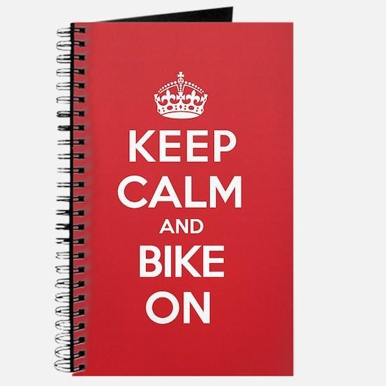 Keep Calm Bike Journal