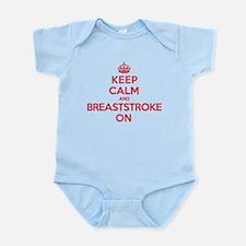 Keep Calm Breaststroke Infant Bodysuit