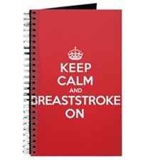 Keep Calm Breaststroke Journal