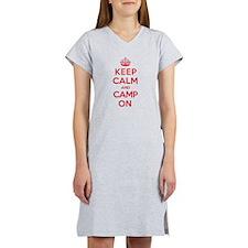 Keep Calm Camp Women's Nightshirt