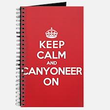 Keep Calm Canyoneer Journal