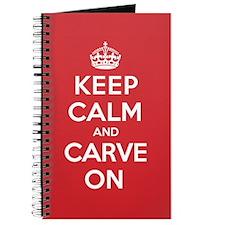 Keep Calm Carve Journal