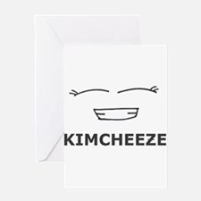 Kimcheeze Greeting Card
