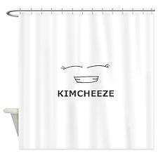 Kimcheeze Shower Curtain