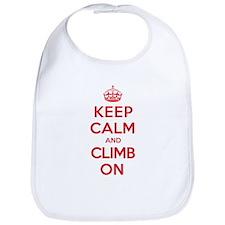 Keep Calm Climb Bib