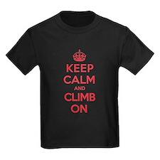 Keep Calm Climb T