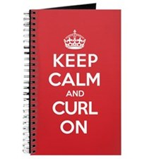 Keep Calm Curl Journal