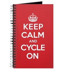 Keep Calm Cycle Journal