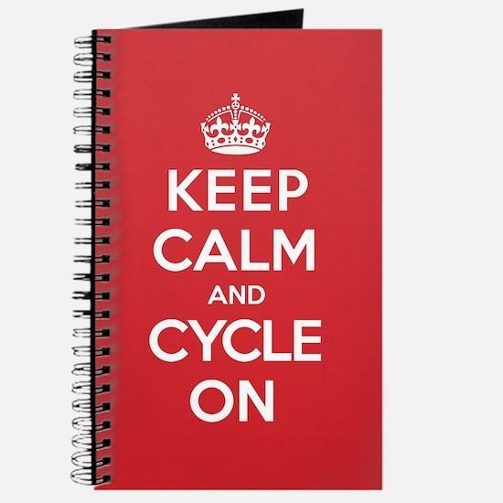 Keep Calm Cycle Journal