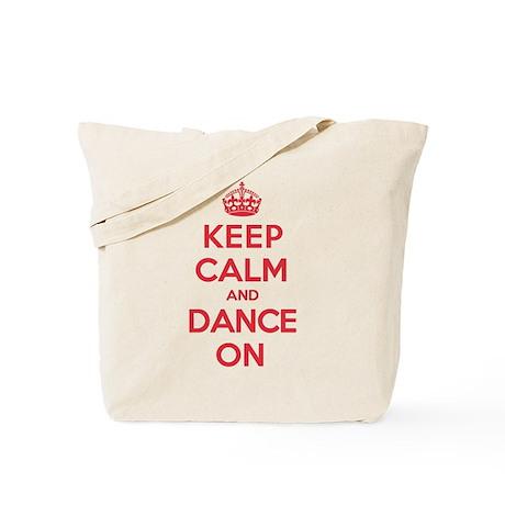 Keep Calm Dance Tote Bag