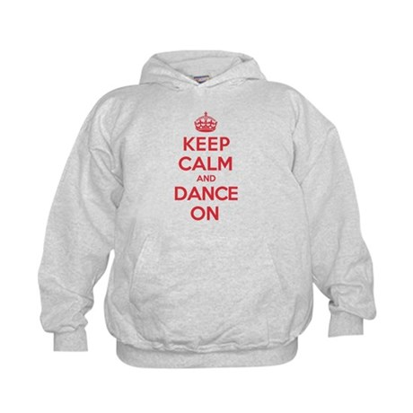 Keep Calm Dance Kids Hoodie