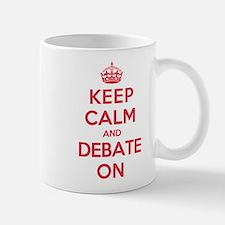 Keep Calm Debate Mug