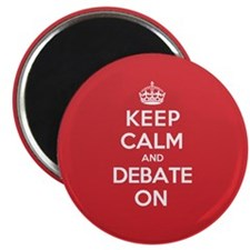 Keep Calm Debate Magnet