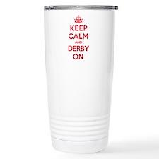 Keep Calm Derby Travel Mug