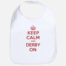 Keep Calm Derby Bib