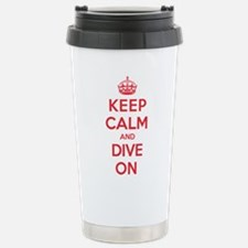 Keep Calm Dive Travel Mug