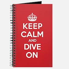 Keep Calm Dive Journal