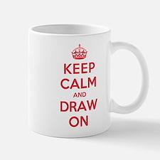 Keep Calm Draw Mug